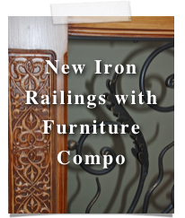 New Iron Railings with 